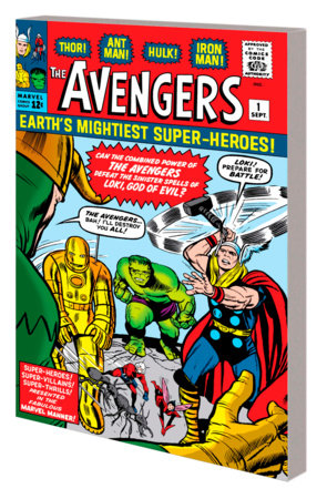 MIGHTY MARVEL MASTERWORKS: THE AVENGERS VOL. 1  - THE COMING OF THE AVENGERS GN- TPB ORIGINAL COVER [DM ONLY]
