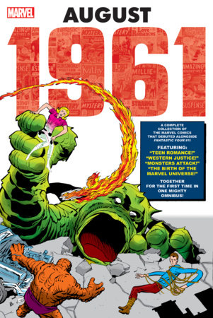 MARVEL: AUGUST 1961 OMNIBUS HC KIRBY COVER [DM ONLY]