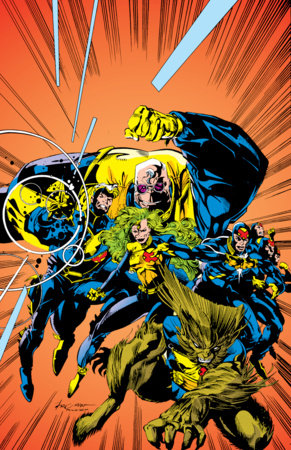 X-FACTOR BY PETER DAVID OMNIBUS VOL. 1 HC STROMAN COVER