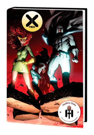 X-MEN: HELLFIRE GALA - THE RED CARPET COLLECTION HC LARRAZ COVER