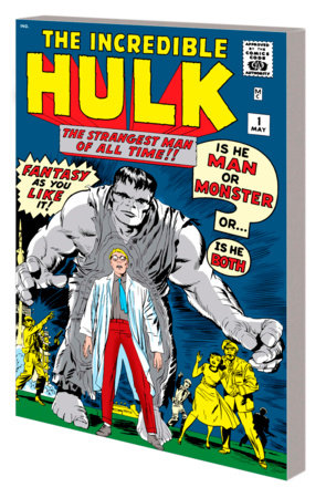 MIGHTY MARVEL MASTERWORKS: THE INCREDIBLE HULK VOL. 1 - THE GREEN GOLIATH GN-TPB ORIGINAL COVER [DM ONLY]