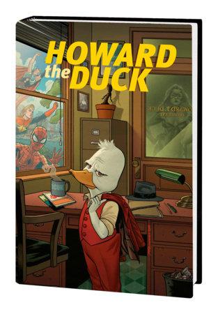 HOWARD THE DUCK BY ZDARSKY & QUINONES OMNIBUS HC QUINONES COVER