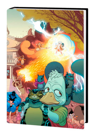 HOWARD THE DUCK BY ZDARSKY & QUINONES OMNIBUS HC MOORE COVER [DM ONLY]