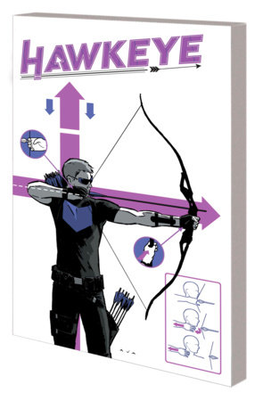HAWKEYE BY FRACTION & AJA: THE SAGA OF BARTON AND BISHOP TPB AJA COVER [DM ONLY]