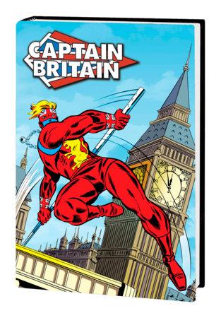 CAPTAIN BRITAIN OMNIBUS HC WILSON COVER [DM ONLY]