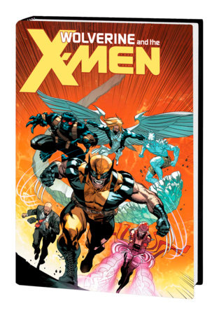 WOLVERINE & THE X-MEN BY JASON AARON OMNIBUS HC IMMONEN COVER [NEW PRINTING, DM ONLY]