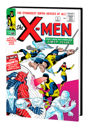 THE X-MEN OMNIBUS VOL. 1 HC KIRBY COVER [NEW PRINTING, DM ONLY]
