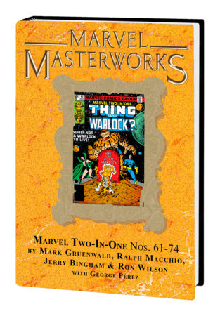 MARVEL MASTERWORKS: MARVEL TWO-IN-ONE VOL. 6 HC VARIANT [DM ONLY]