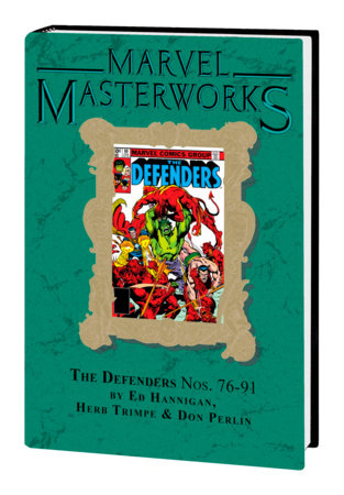 MARVEL MASTERWORKS: THE DEFENDERS VOL. 8 HC VARIANT [DM ONLY]