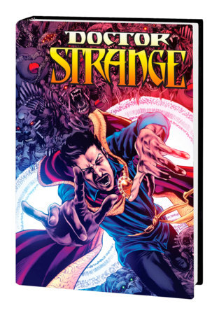 DOCTOR STRANGE BY AARON & BACHALO OMNIBUS HC PERKINS COVER [DM ONLY]