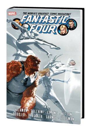 FANTASTIC FOUR BY JONATHAN HICKMAN OMNIBUS VOL. 2 HC DELL'OTTO COVER [NEW PRINTING]