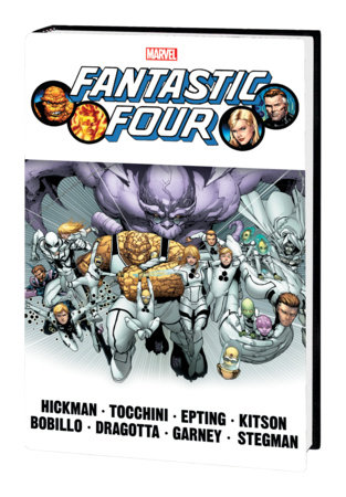 FANTASTIC FOUR BY JONATHAN HICKMAN OMNIBUS VOL. 2 HC CAMUNCOLI COVER [NEW PRINTING, DM ONLY]