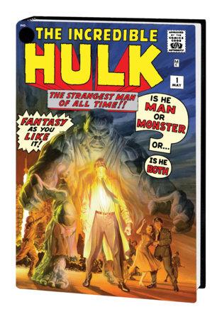 THE INCREDIBLE HULK OMNIBUS VOL. 1 HC ALEX ROSS COVER [NEW PRINTING]