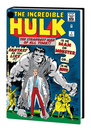 THE INCREDIBLE HULK OMNIBUS VOL. 1 HC KIRBY COVER [NEW PRINTING, DM ONLY]
