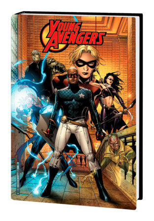 YOUNG AVENGERS BY HEINBERG & CHEUNG OMNIBUS HC CHEUNG FIRST ISSUE COVER