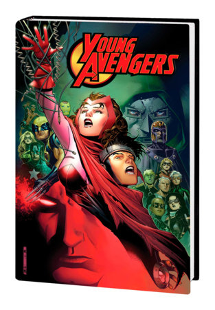 YOUNG AVENGERS BY HEINBERG & CHEUNG OMNIBUS HC CHEUNG CHILDREN'S CRUSADE COVER [DM ONLY]