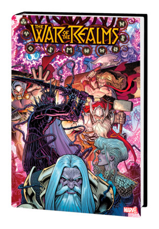 WAR OF THE REALMS OMNIBUS HC ARTHUR ADAMS COVER [NEW PRINTING, DM ONLY]