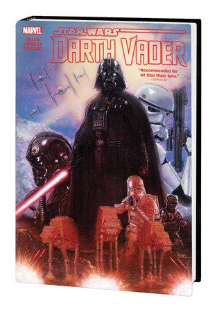 STAR WARS: DARTH VADER BY GILLEN & LARROCA OMNIBUS HC ANDREWS COVER [NEW PRINTING]
