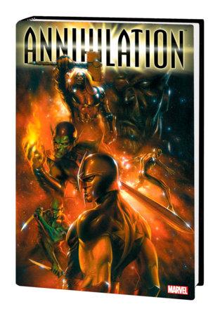ANNIHILATION OMNIBUS HC DELL'OTTO COVER [NEW PRINTING 2]