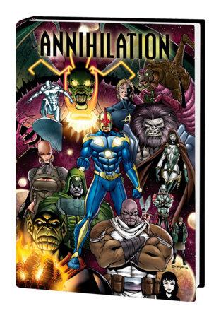 ANNIHILATION OMNIBUS HC DI VITO COVER [NEW PRINTING 2, DM ONLY]