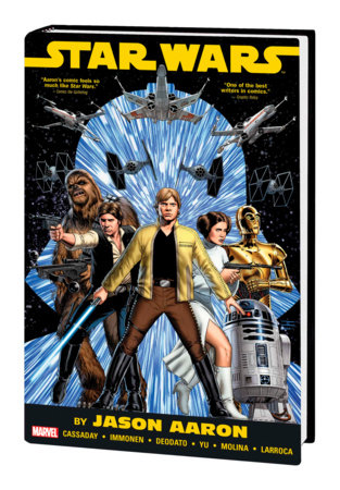 STAR WARS BY JASON AARON OMNIBUS HC CASSADAY COVER [NEW PRINTING]