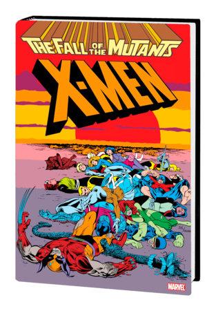 X-MEN: FALL OF THE MUTANTS OMNIBUS HC DAVIS COVER [NEW PRINTING]