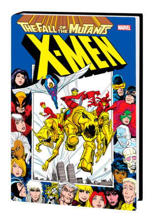 X-MEN: FALL OF THE MUTANTS OMNIBUS HC BLEVINS COVER [NEW PRINTING, DM ONLY]