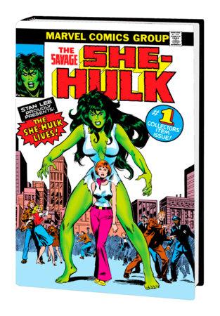 THE SAVAGE SHE-HULK OMNIBUS HC JOHN BUSCEMA COVER [DM ONLY]