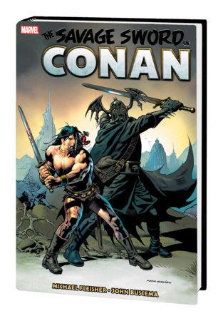 SAVAGE SWORD OF CONAN: THE ORIGINAL MARVEL YEARS OMNIBUS VOL. 7 HC NOWLAN COVER