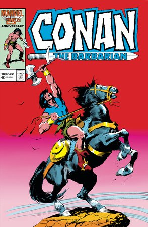 CONAN THE BARBARIAN: THE ORIGINAL MARVEL YEARS OMNIBUS VOL. 7 HC JOHN BUSCEMA COVER [DM ONLY]