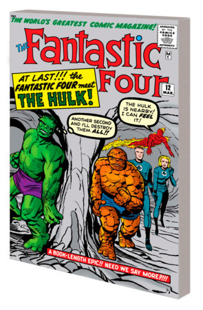 MIGHTY MARVEL MASTERWORKS: THE FANTASTIC FOUR VOL. 2 - THE MICRO-WORLD OF DOCTOR DOOM GN-TPB ORIGINAL COVER [DM ONLY]