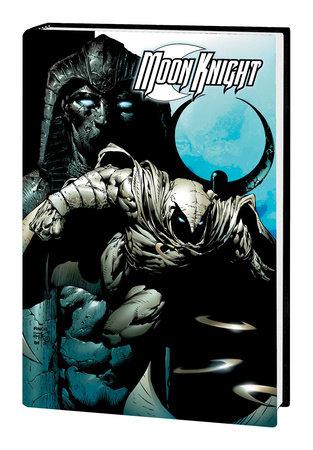 MOON KNIGHT BY HUSTON, BENSON & HURWITZ OMNIBUS HC FINCH COVER