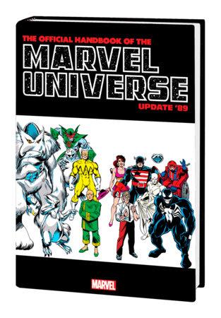 OFFICIAL HANDBOOK OF THE MARVEL UNIVERSE: UPDATE '89 OMNIBUS HC FRENZ VENOM COVE R
