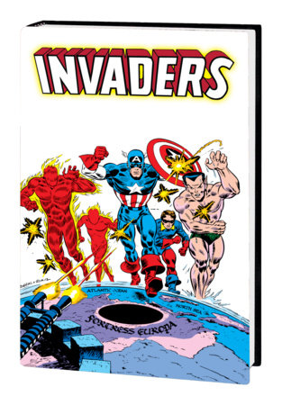 INVADERS OMNIBUS HC ROBBINS COVER