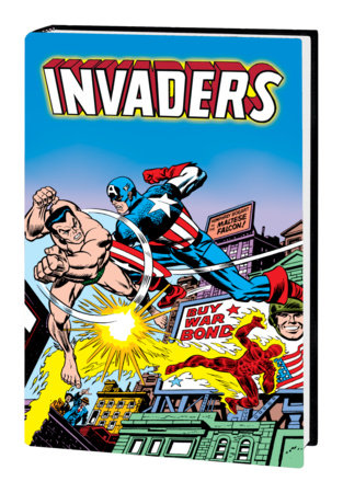 INVADERS OMNIBUS HC KIRBY COVER [DM ONLY]