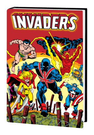 INVADERS OMNIBUS HC KANE COVER [DM ONLY]