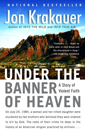 Cover image for Under the Banner of Heaven