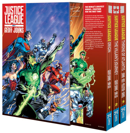 Justice League by Geoff Johns Box Set Vol. 1