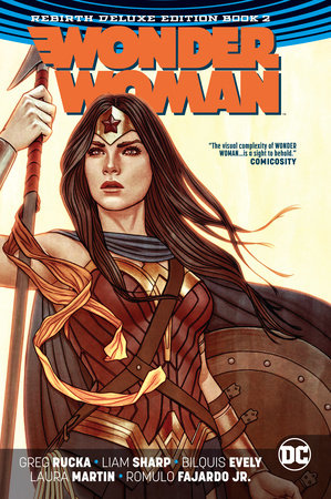 Wonder Woman: The Rebirth Deluxe Edition Book 2