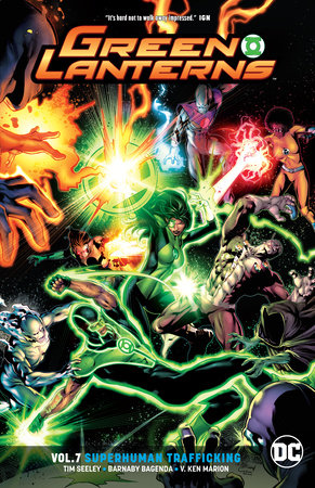 Green Lanterns Vol. 7: Superhuman Trafficking
