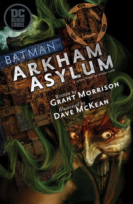 Batman: Arkham Asylum (DC Black Label Edition)