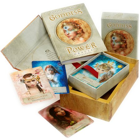 Goddess Power Oracle (Deluxe Keepsake Edition)