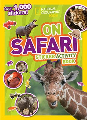 National Geographic Kids On Safari Sticker Activity Book