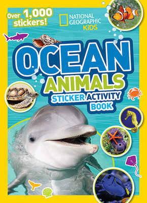 National Geographic Kids Ocean Animals Sticker Activity Book