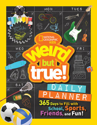 Weird But True Daily Planner