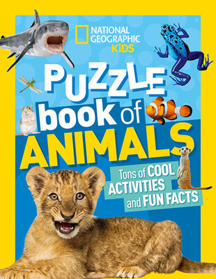 National Geographic Kids Puzzle Book: Animals