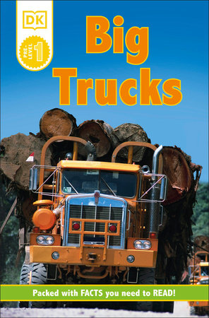 DK Readers L0: Big Trucks