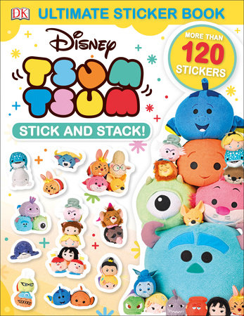 Ultimate Sticker Book Disney Tsum Stick And Stack