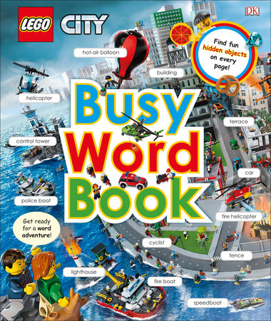 LEGO CITY: Busy Word Book