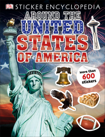 Sticker Encyclopedia Around the United States of America
